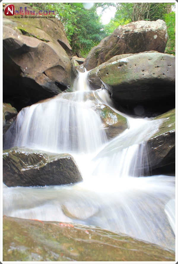 น้ำตกผานางคอย นาคู กาฬสินธุ์ nangkoy waterfall
