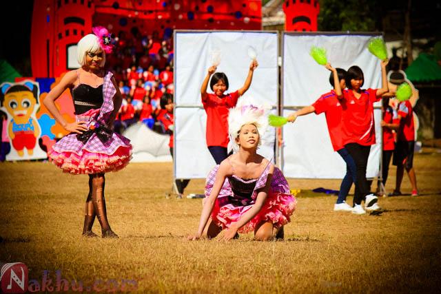 กีฬาสี นาคูพัฒนา 2555 สีชมพู-24